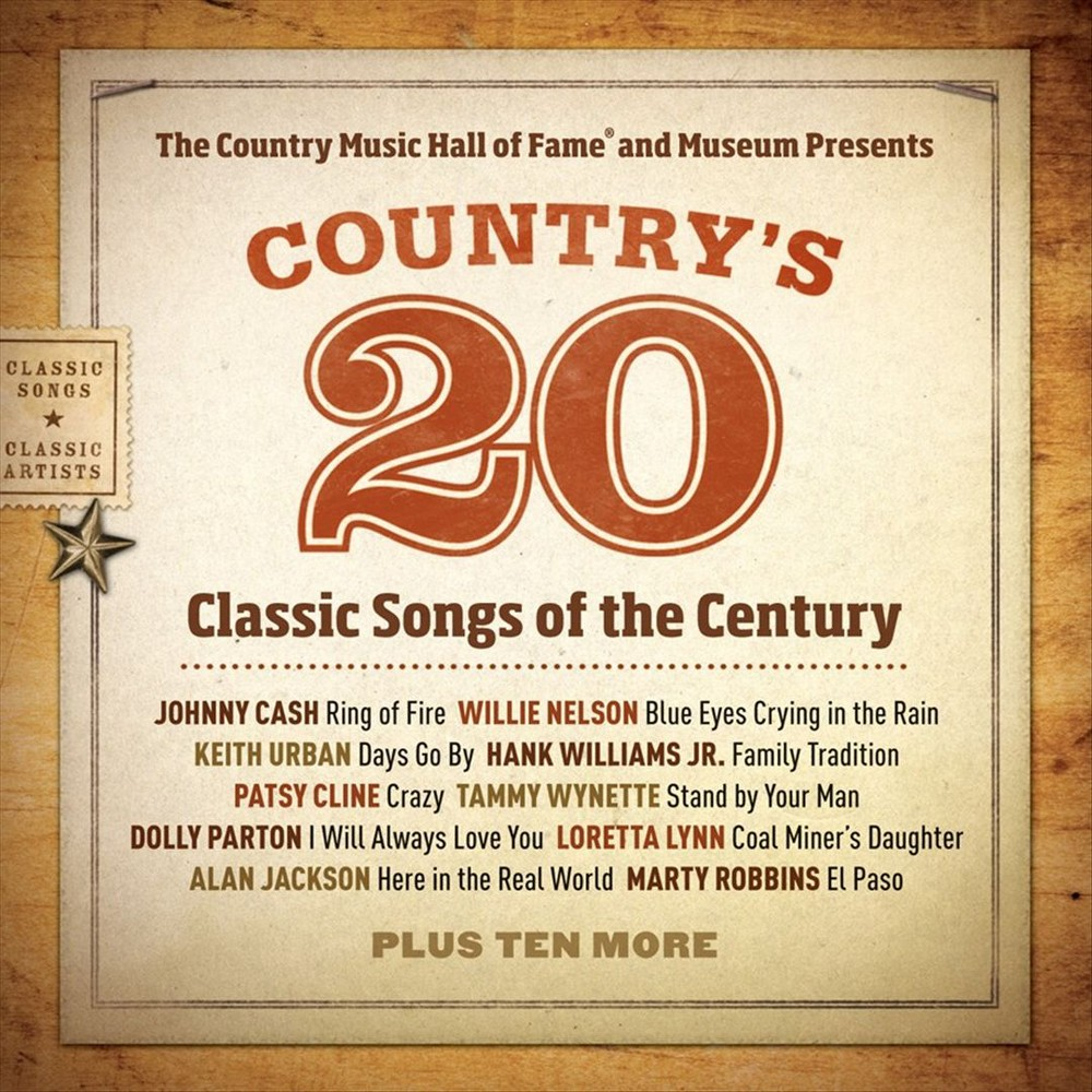 Various - Country Music Hall Of Fame Presents C (CD)