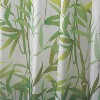 Anzu Floral Shower Curtain - iDESIGN - image 3 of 3