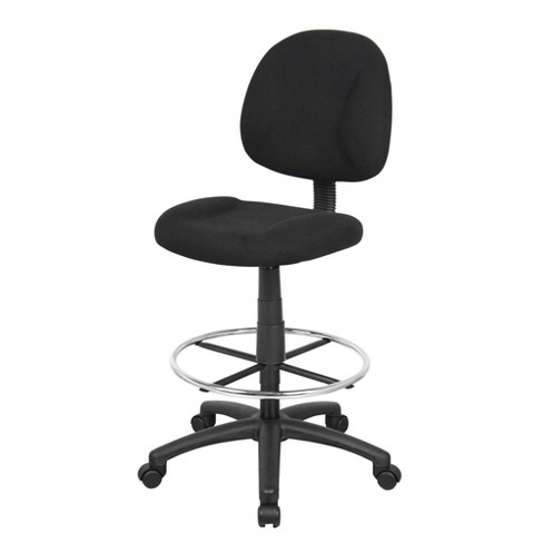 Super Drafting Stool With Footring Black Boss Office Products Creativecarmelina Interior Chair Design Creativecarmelinacom