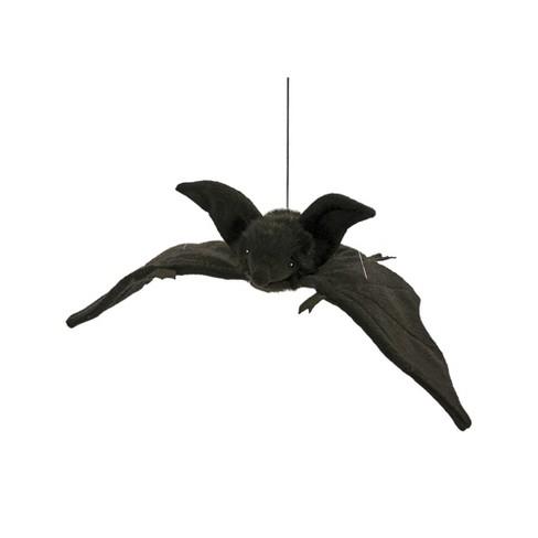 Hansa Hanging Bat Plush Toy Black