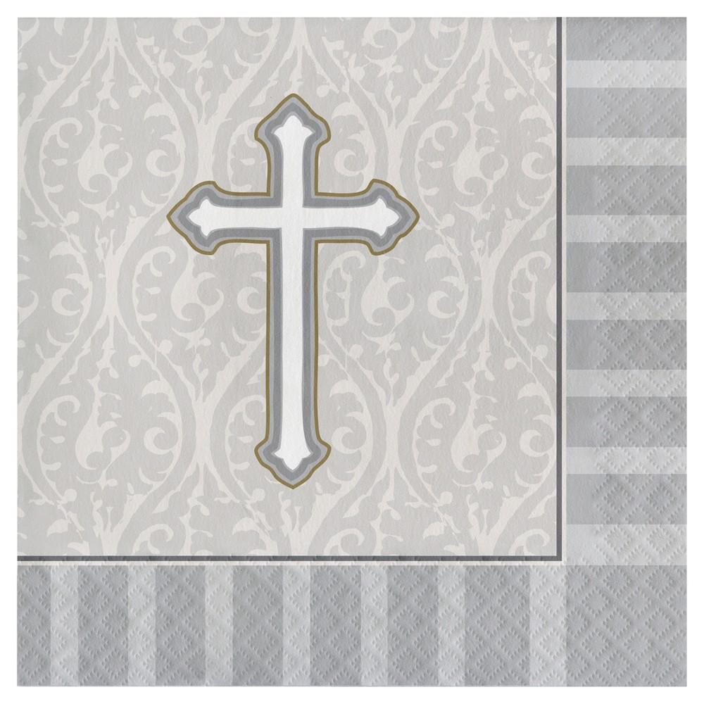 Image of Light Gray Disposable Napkins