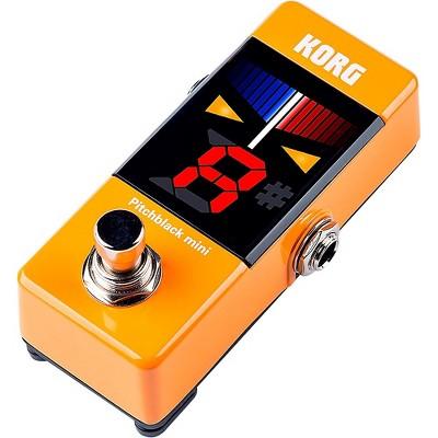Korg Pitchblack Mini Pedal Tuner in Limited Edition Orange