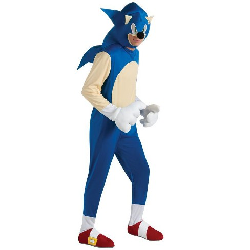Sonic The Hedgehog Sonic The Hedgehog Deluxe Adult Costume Target