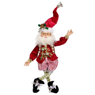 """Mark Roberts Products 17"""" Red and White Mischief Mark Roberts Christmas Fairy Ornament"""