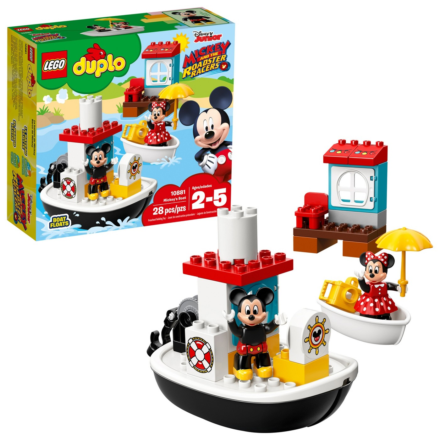 LEGO DUPLO Disney Mickey Mouse's Boat 10881 - image 1 of 8
