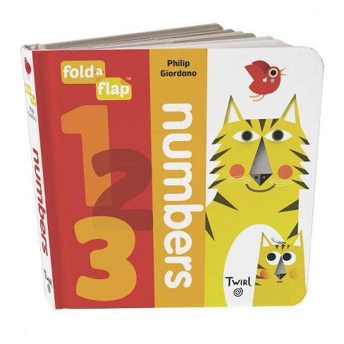 Fold-A-Flap: Numbers - (Board_book) - image 1 of 1