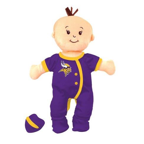 NFL Minnesota Vikings Wee Baby Stella Doll - image 1 of 1