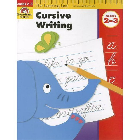 Cursive Writing, Grades 2-3 - (Learning Line) (Paperback) - image 1 of 1