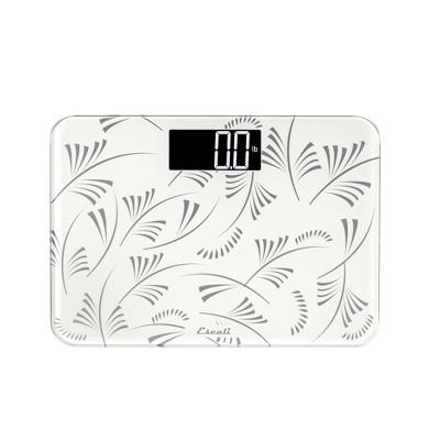 Compact Floral Body Scale White - Escali