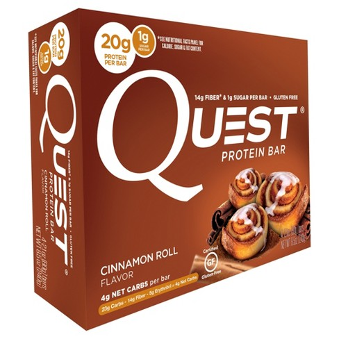 Quest Nutrition® Protein Bar - Cinnamon Roll - 4ct - image 1 of 2
