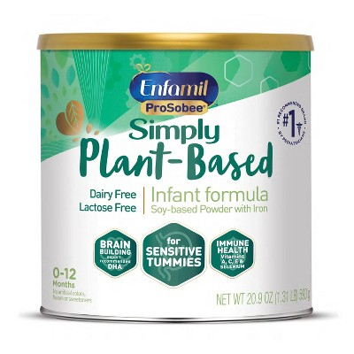 Enfamil Plant-Based Soy Baby Formula with Iron Powder - 20.9oz