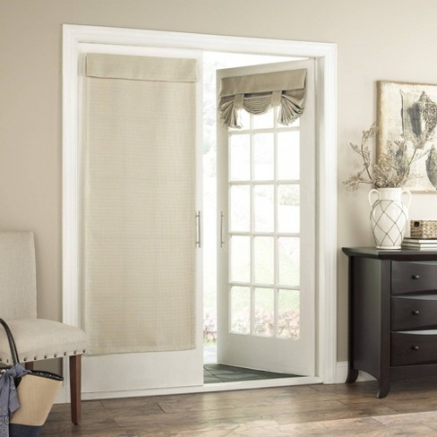 """68""""x28"""" Bryson Thermaweave Blackout French Door Panel - Eclipse - image 1 of 3"""