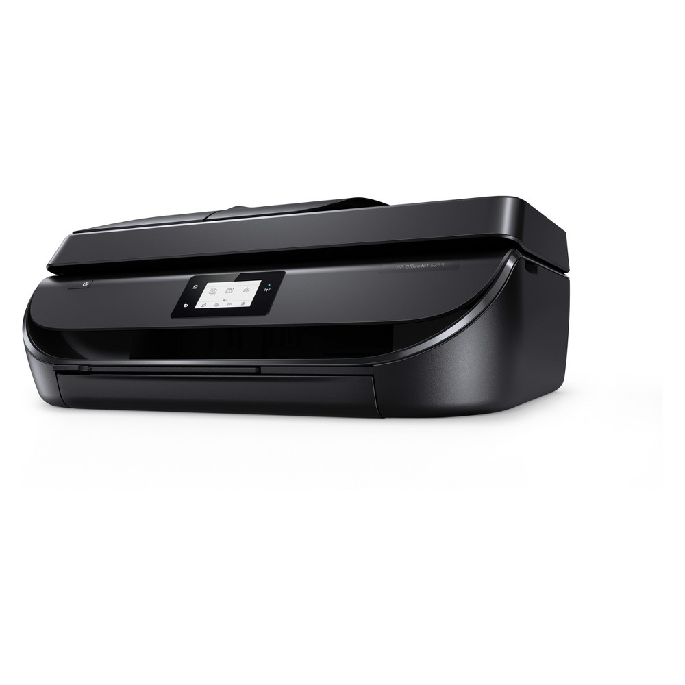 HP Office Jet 5255 All-in-One Inkjet Printer - Black (M2U75A_B1H) Get more done in your day: print, scan, copy, and fax at fast speeds, and keep tasks moving with the HP OfficeJet 5255 All-in-One wireless printer. Expect vivid color, crisp, sharp text, and borderless photos every time you print, plus breeze through print jobs using the 35-page Adf and automatic two-sided printing. Perfect FOR Home and Home Office - This affordable all-in-one printer easily adapts to everything your day has in store: print, scan, copy and fax at fast speeds. Reliable Wireless Connectivity - Stay connected: Reliable Dual Band Wi-Fi delivers a stable connection for steady performance while wireless direct delivers mobile printing without a network connection. THE Power OF Your Printer IN THE Palm OF Your Hand - HP Smart App compatible: Print photos and documents directly from your cloud drive, social media account or wirelessly from your iOS and Android mobile device. Color: Black.