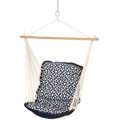 Single Swing - Navy/White - Hatteras Hammocks
