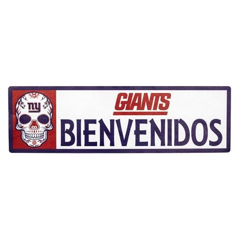 NFL New York Giants Outdoor Bienvenidos Step Decal - image 1 of 2