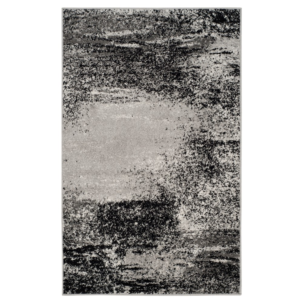 Nykko Accent Rug - Silver/Multi (3'x5') - Safavieh, Silver/Multi-Colored