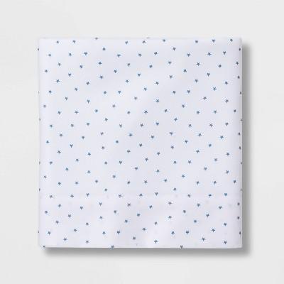 Micro Star Flat Sheet Separates Blue - Pillowfort™