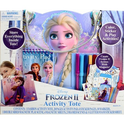 Disney Frozen 2 Activity Tote