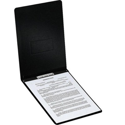 Oxford PressGuard 2-Prong Report Covers Letter Black 6021