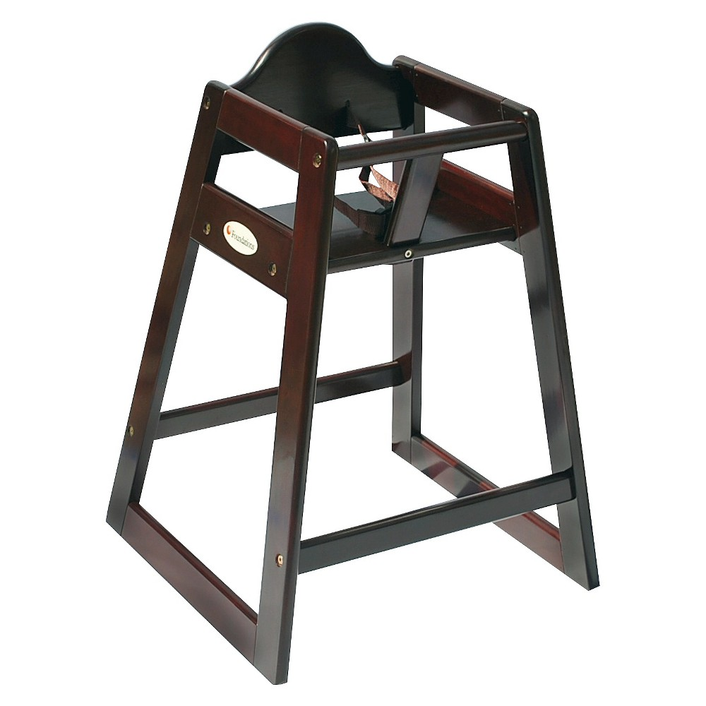 Foundations Hardwood High Chair -Antique Cherry (Red)