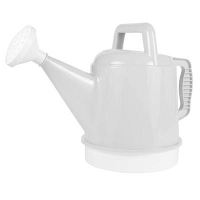 2.5gal Deluxe Watering Can White - Bloem