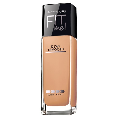 Maybelline FIT ME! Dewy + Smooth Foundation - Medium Shades - 1.0 fl oz - image 1 of 3