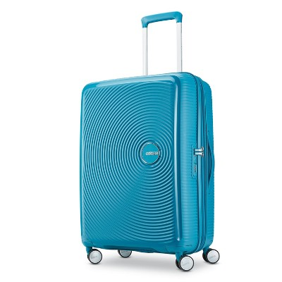 American Tourister 25'' Curio Hardside Spinner Suitcase - Blue
