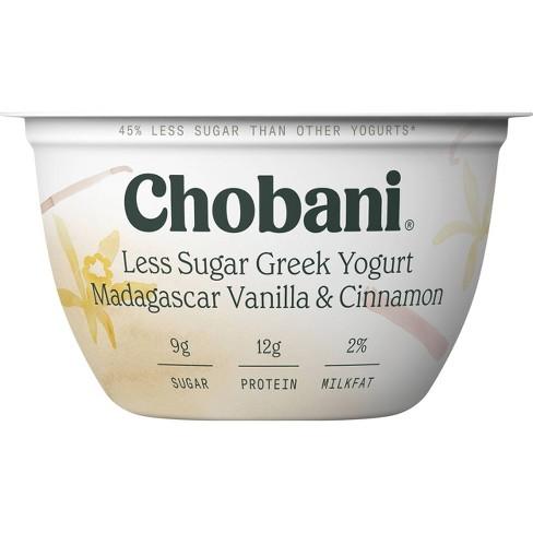 Chobani Madagascar Vanilla & Cinnamon Low Fat Blended Greek Yogurt - 5.3oz - image 1 of 3