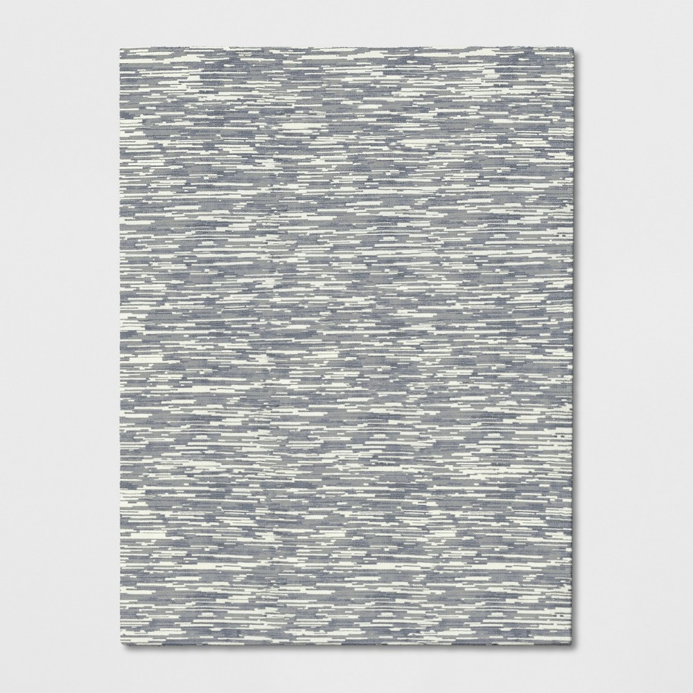 9'X12' Microplush Lines Area Rug Gray - Project 62 was $449.99 now $224.99 (50.0% off)