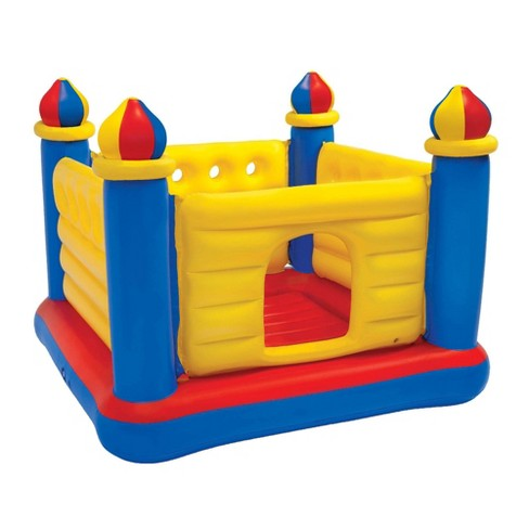 Intex Inflatable Colorful Jump-O-Lene Kids Castle Bouncer for Ages 3-6   48259EP - image 1 of 4