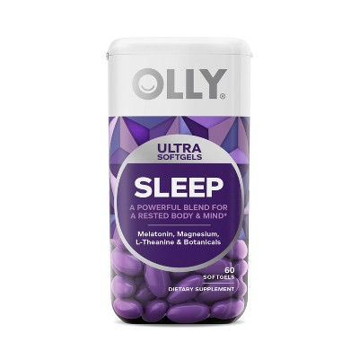 OLLY Ultra Sleep Softgel Supplement - 60ct