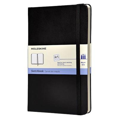 """Moleskine Sketchbook 5""""x 8.25"""" - Black"""