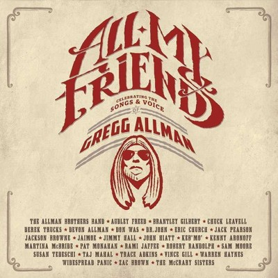 Gregg Allman - All My Friends: Celebrating The Songs & Voice Of Gregg Allman (2 CD/DVD Combo)