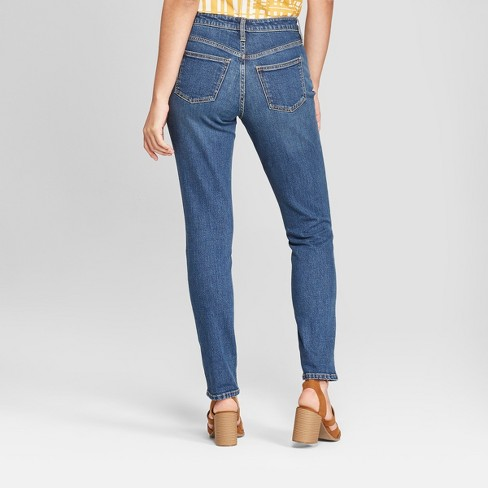 bd7164059f82 Women s High-Rise Slim Straight Leg Jeans - Universal Thread™ Dark Wash