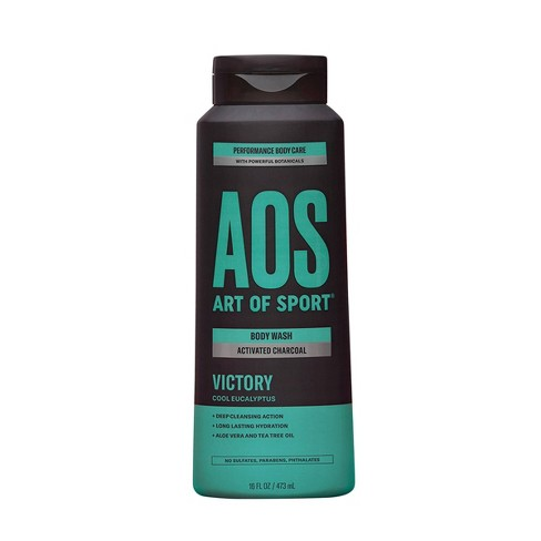 Art of Sport Victory Activated Charcoal Body Wash - 16 fl oz - image 1 of 3