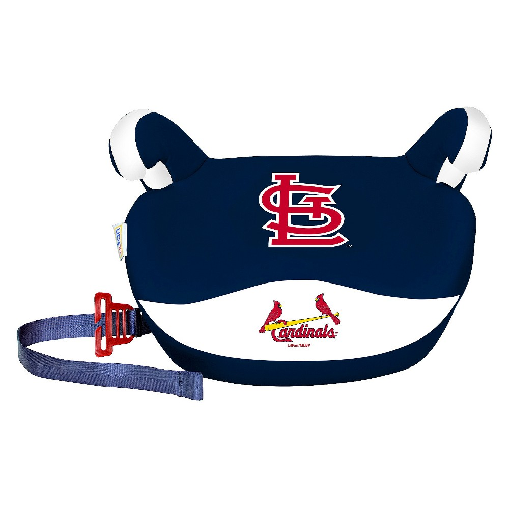 St. Louis Cardinals Lil Fan Box Seat Premium Slimline No Back Seat Booster