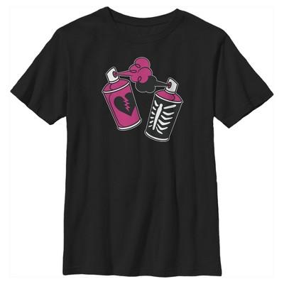 Boy's Fortnite Spray Can Graffiti T-Shirt