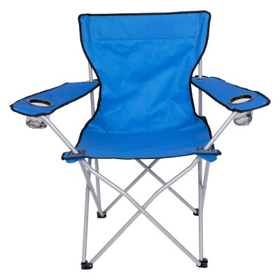 Evergreen Adult Basic Camp Chair - Blue