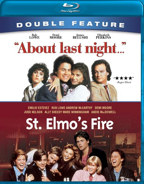 About last night/St. elmo's fire (Blu-ray) - image 1 of 1