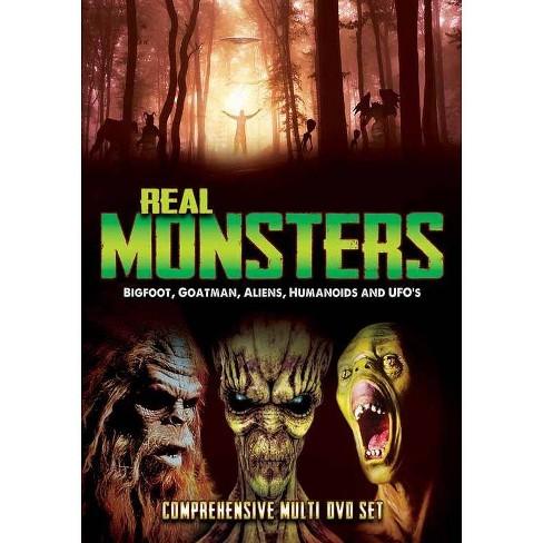 Real Monsters: Bigfoot, Goatman, Aliens, Humanoids & UFOs (DVD) - image 1 of 1