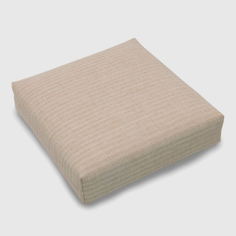 Outdoor Deep Seat Cushion Light Natural - Threshold™ - image 1 of 3