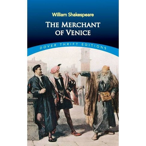 The Merchant of Venice - (Dover Thrift Editions) by  William Shakespeare (Paperback) - image 1 of 1