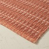 """20""""x32"""" Handwoven Geo Bath Rug Rose - Opalhouse™ designed with Jungalow™ - image 3 of 4"""