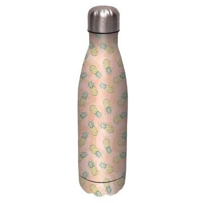 Artisan 17oz Stainless Steel Water Bottle - Pineapple Paradise