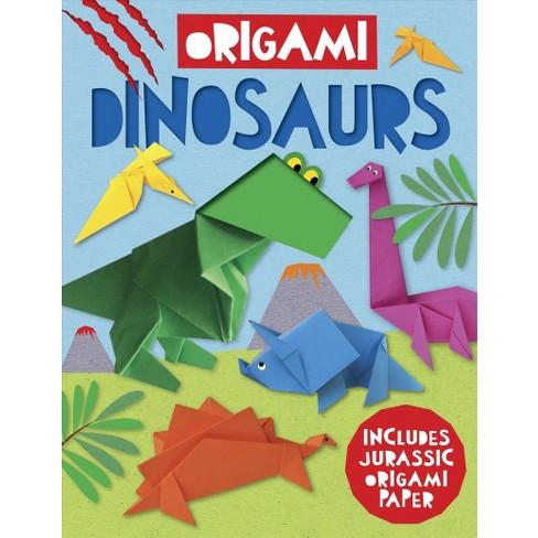 Origami Dinosaur Includes Jurassic Origami Paper Paperback Joe