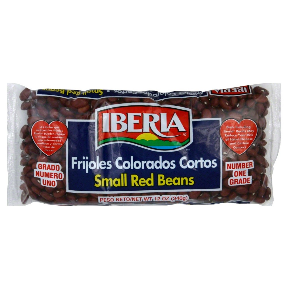Iberia Small Red Beans 12 oz