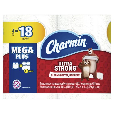 Toilet Paper: Charmin Ultra Strong