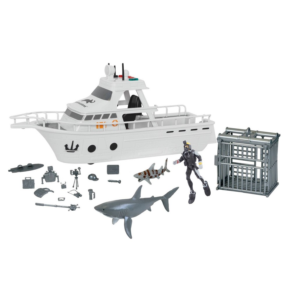 Animal Planet Shark Research Boat