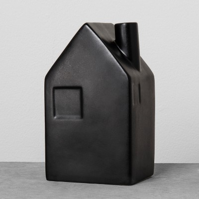 House Bud Vase Large - Black - Hearth & Hand™ with Magnolia