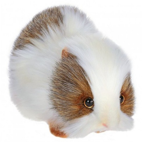 Hansa Gray and White Guinea Pig Plush Toy - image 1 of 1
